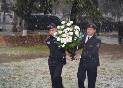 Employees of the service paid tribute