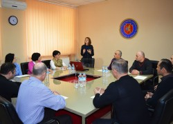 SSPS training in the Academy of the Ministry of Internal Affairs of Georgia